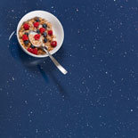 Blue Sparkle Laminate Worktops - Andromeda