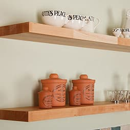 Solid Wood Shelves