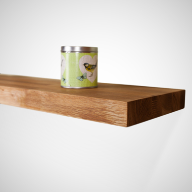 Solid Wood Floating Shelves for Christmas