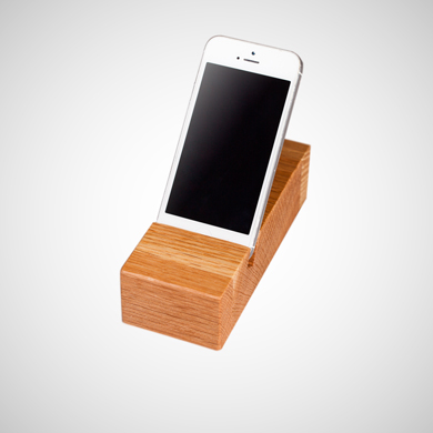 Solid Wood iPhone / Mobile Phone Holders for Christmas
