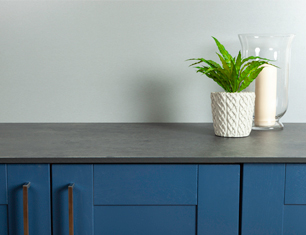 Black star earthstone worktops