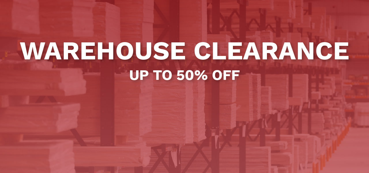 Warehouse Clearance - Up To 50% Off