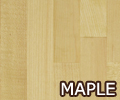 Maple Worktops